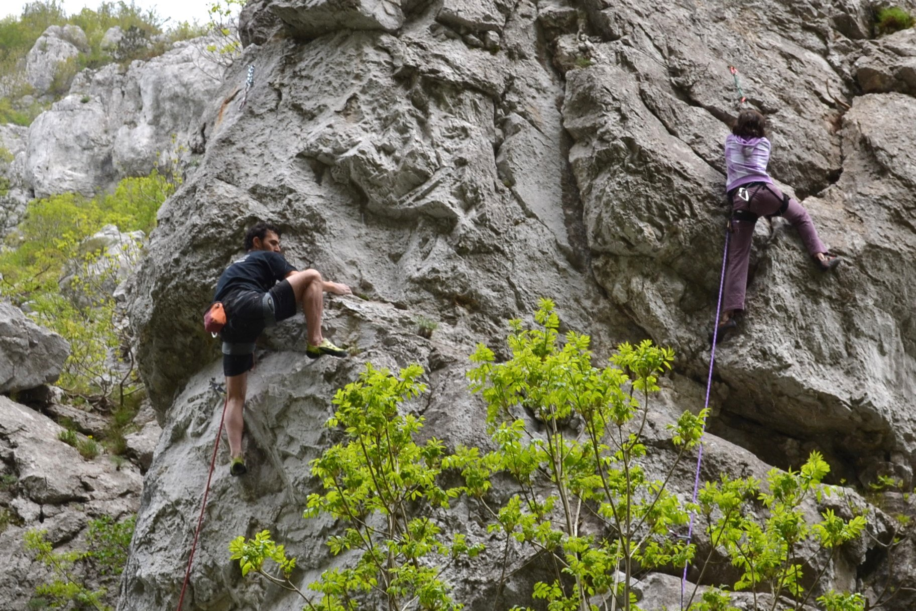 Climbing First Acces - 6b
