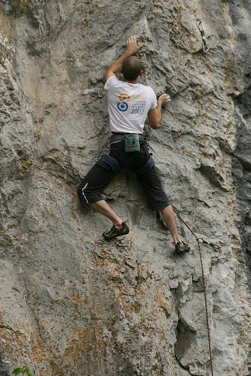 Costin Morariu on the FA of Corabia 7c