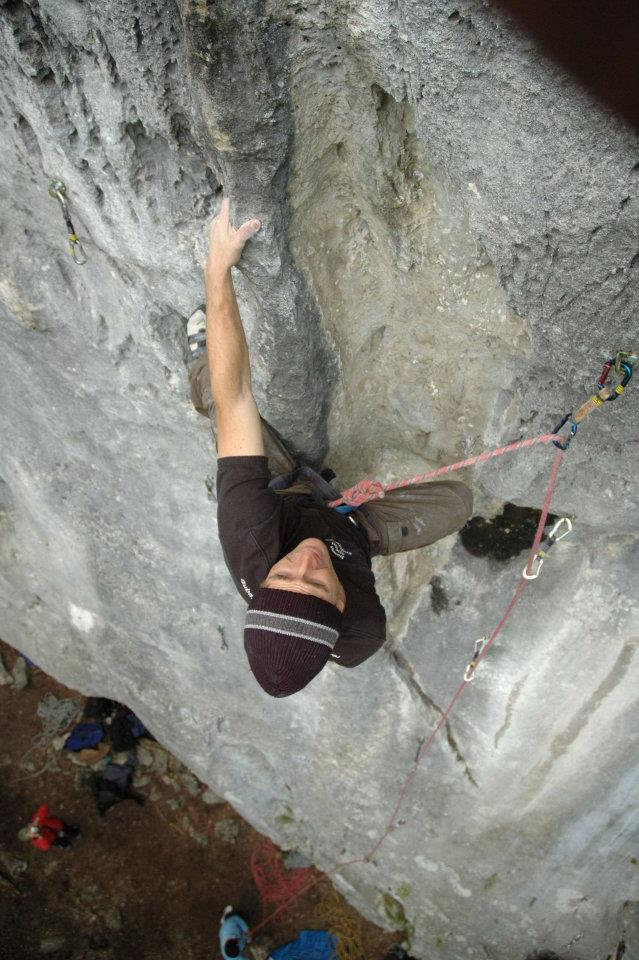 Ionel Ene in Carstic - 7a+